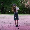 桜吹雪と晴女