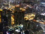 SKY100 night view