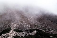 赤石大斜面トラバース