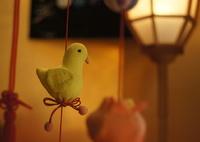 つるし雛のある光景【鳩】