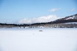 空色の雪原