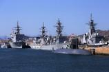 護衛艦4艦と潜水艦