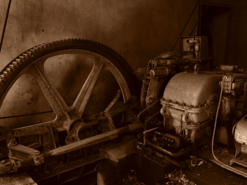 かつて歯車だった物