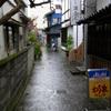 秋雨の松本路地裏3