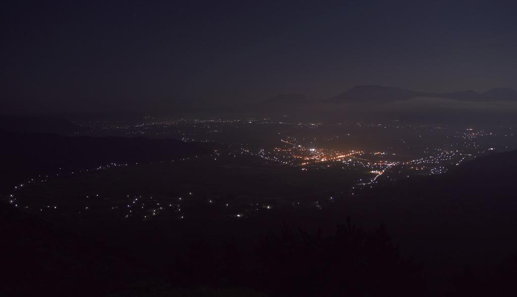 阿蘇の夜景 from THE 阿蘇・大観望