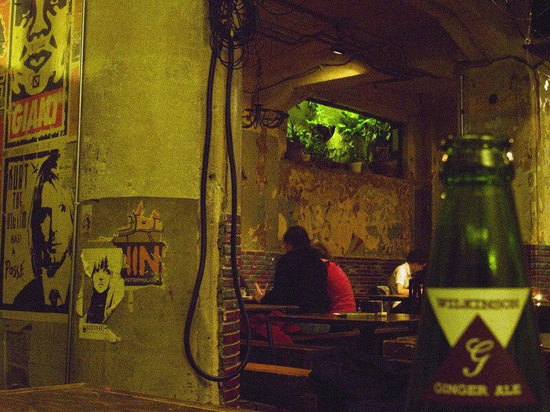a secret cafe