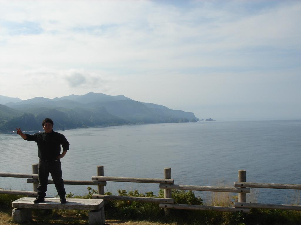 北海道にて