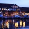 湖畔のホテル