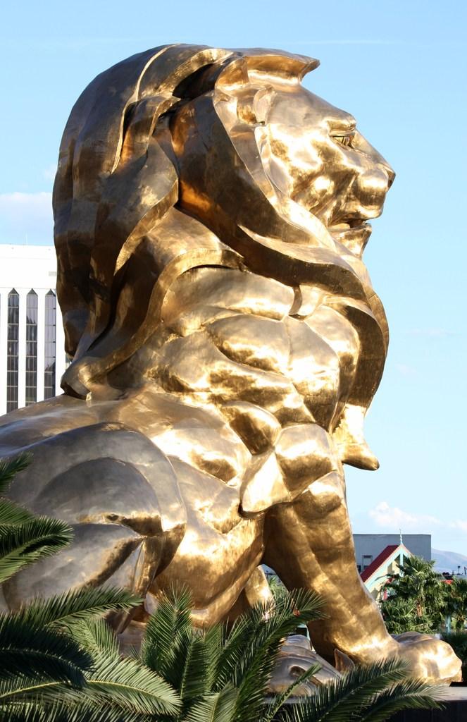 黄金の獅子