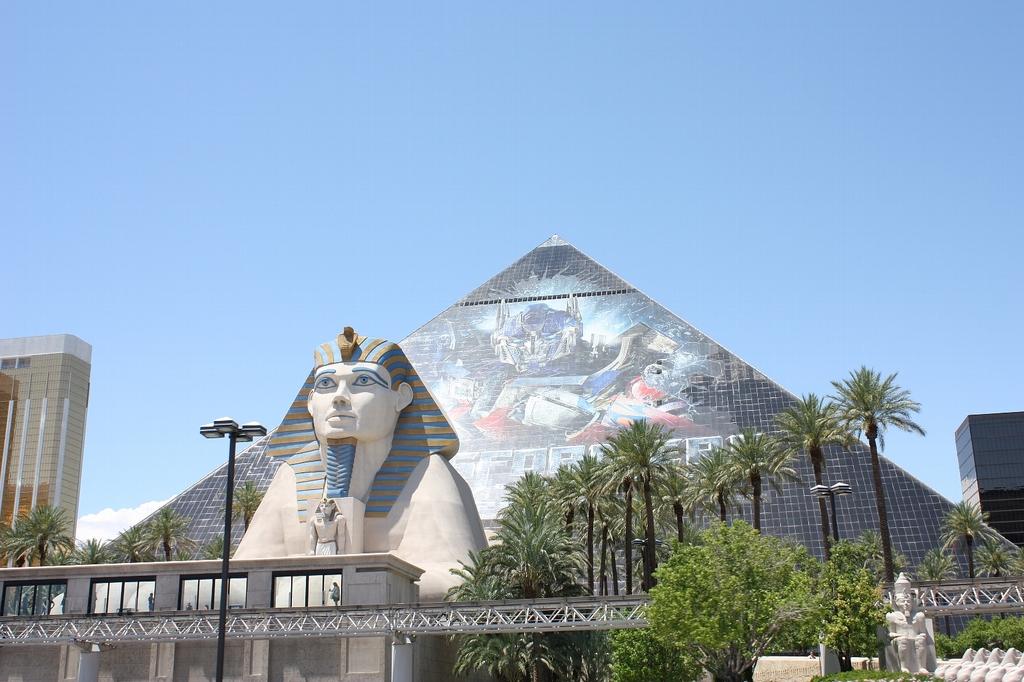 ラスベガスのピラミッド
