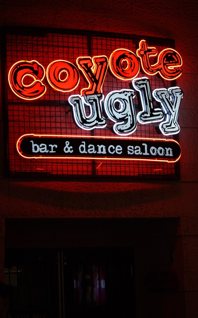 coyote ugly in Las Vegas