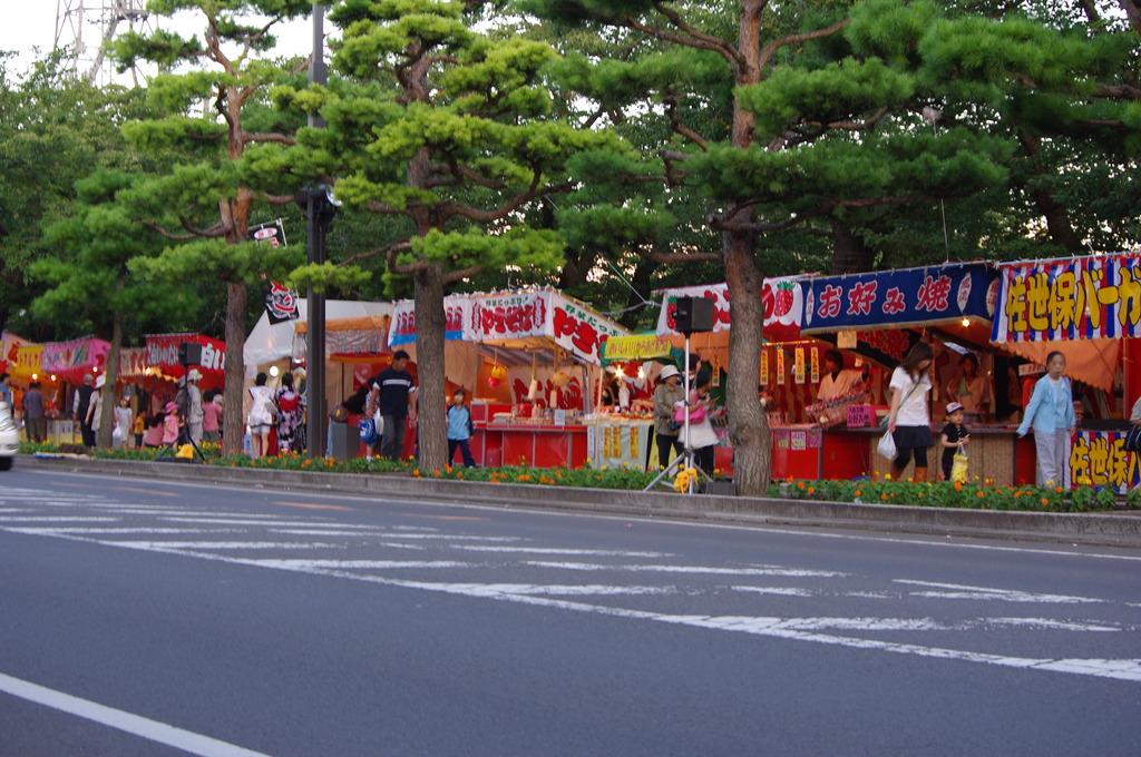 祭りの露店