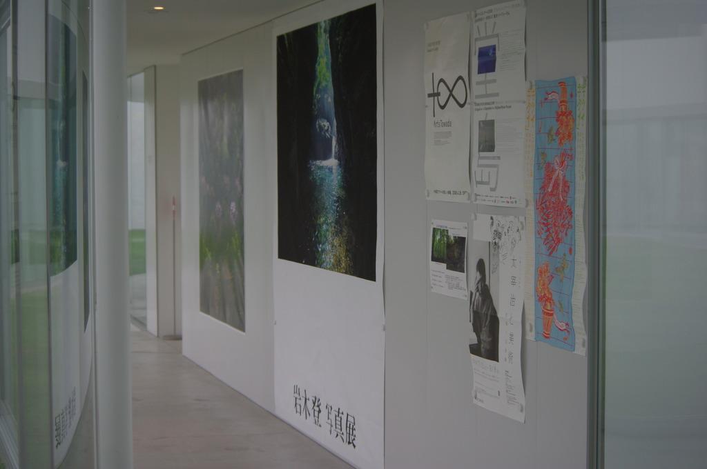 十和田現代美術館の廊下