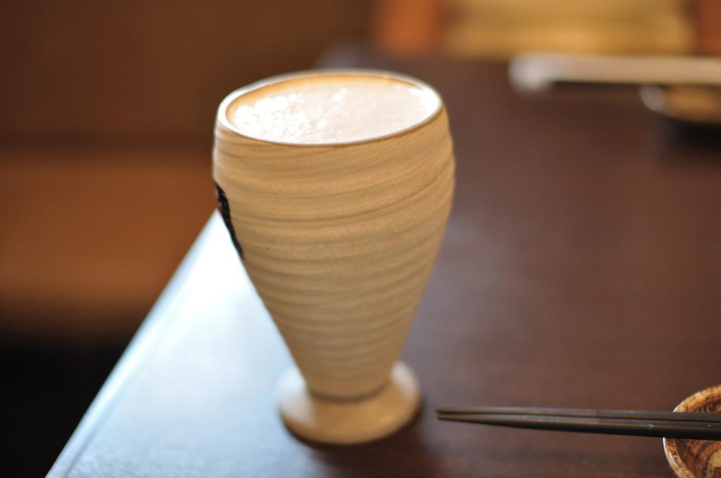 江ノ島シラス丼と生ビール