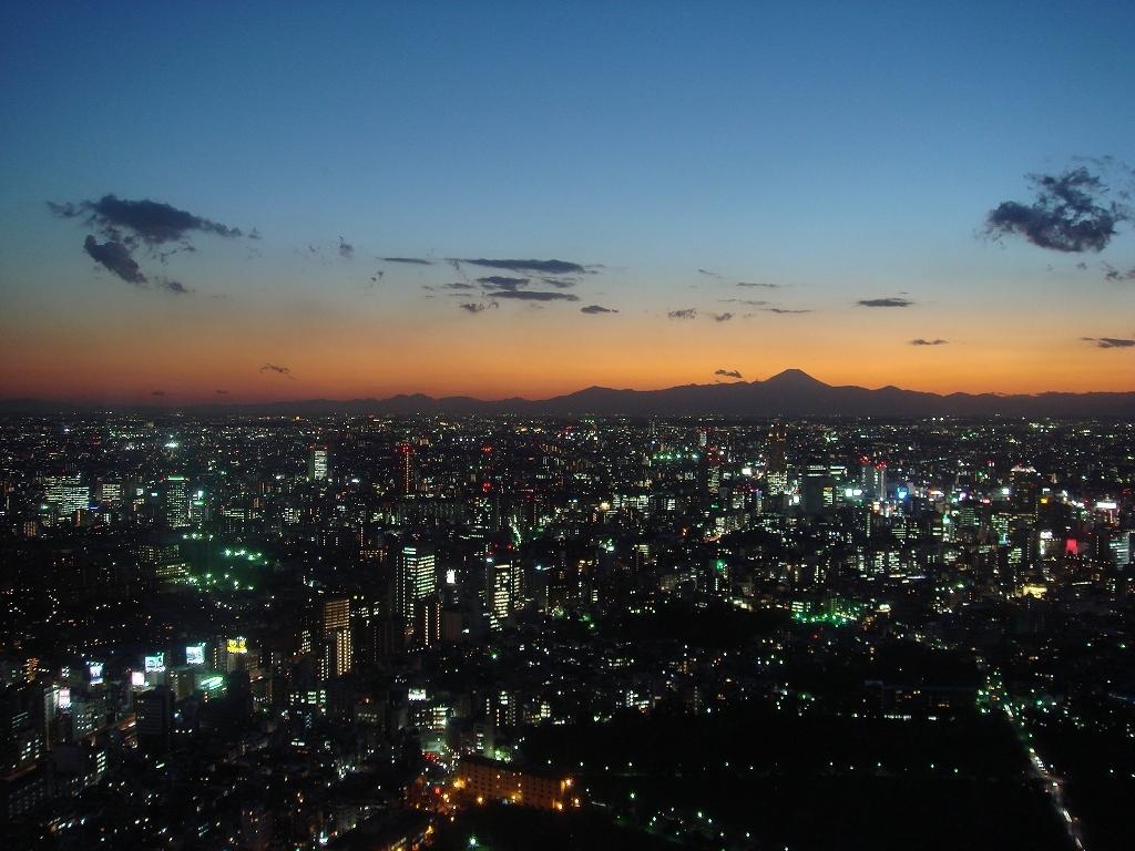 富士山を遠くに眺めながら②