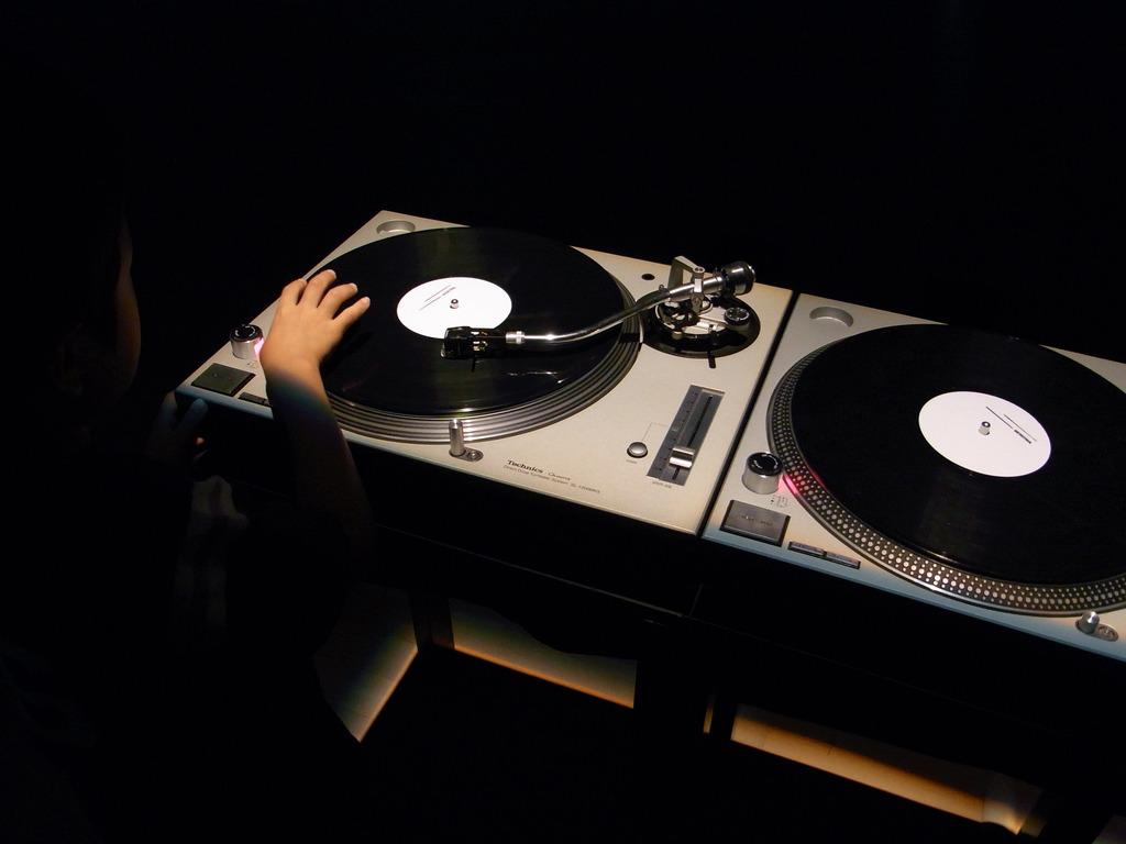 a little DJ