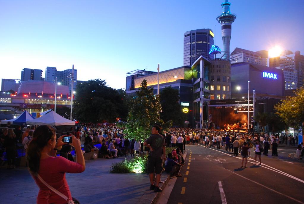 ニュージーランド 芸術祭