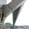 関門橋 - 下から