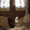 ステンドグラスが醸し出す極上の特別室