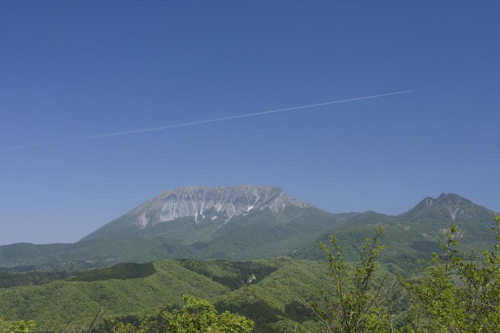晴天の大山