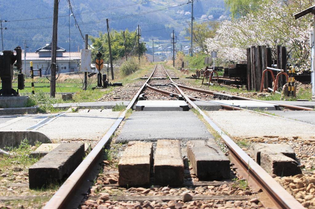 線路の先には・・・