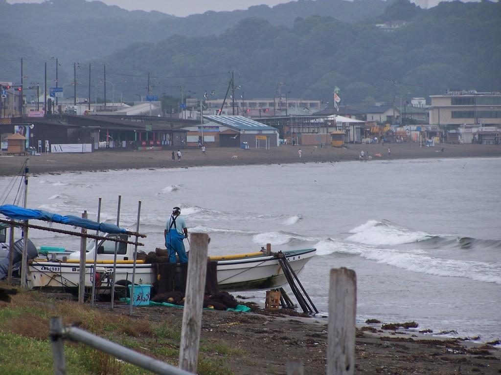 鎌倉の漁師