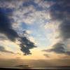 江の島の日の出