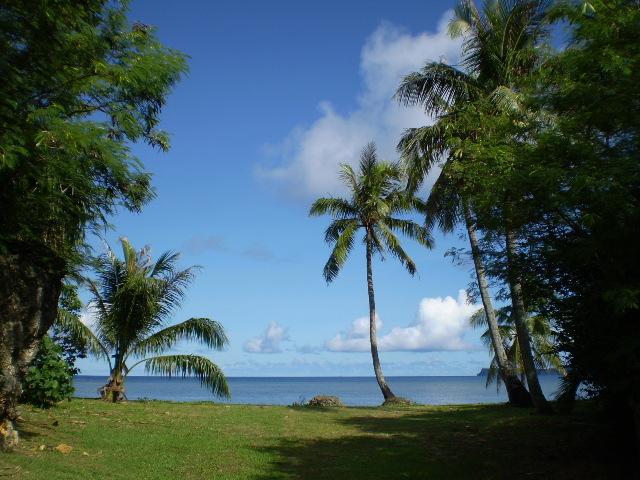 グアムの海