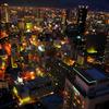 大阪夜景173mより/HDR