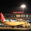 JAL B737-800 出雲空港に駐機