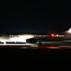 JAL B737-800 夜間飛行の終わり