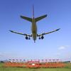 JAL A300-600R 出雲空港へアプローチ