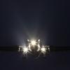 JAL A300-600R 夜のアプローチ