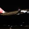 JAL B737-800 夜間飛行の始まり