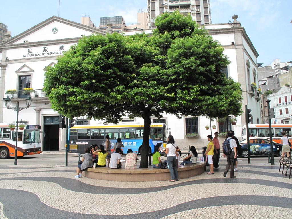 セナド広場の待ち合せ場所