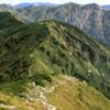 双六岳から笠が岳登山