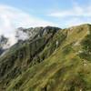 弓折岳方面