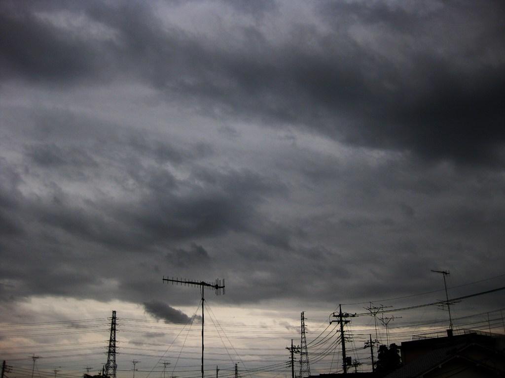 本日は曇り