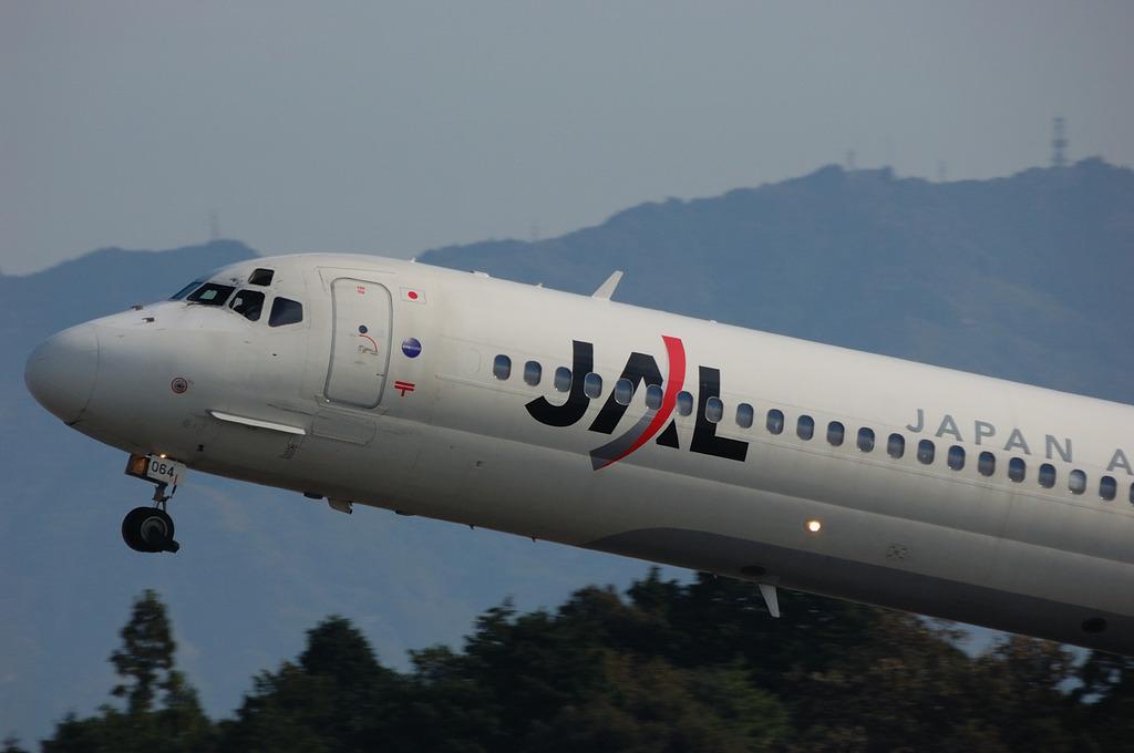 JAL離陸