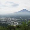 カチカチ山ロープウェイ富士見台駅から