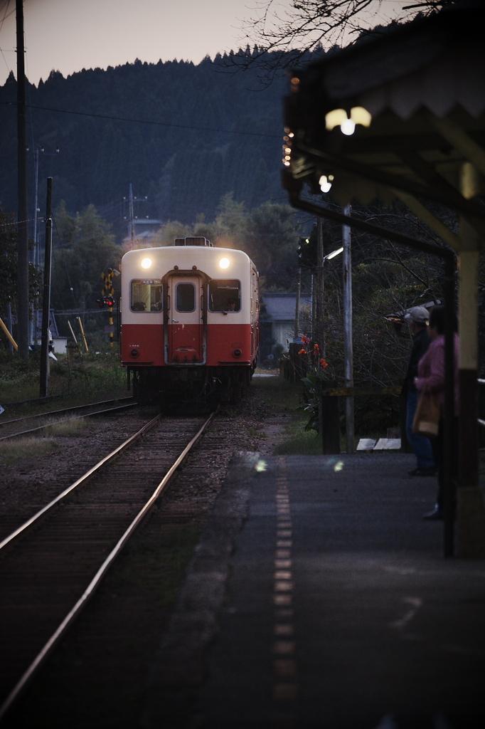 小湊鐵道@高滝駅