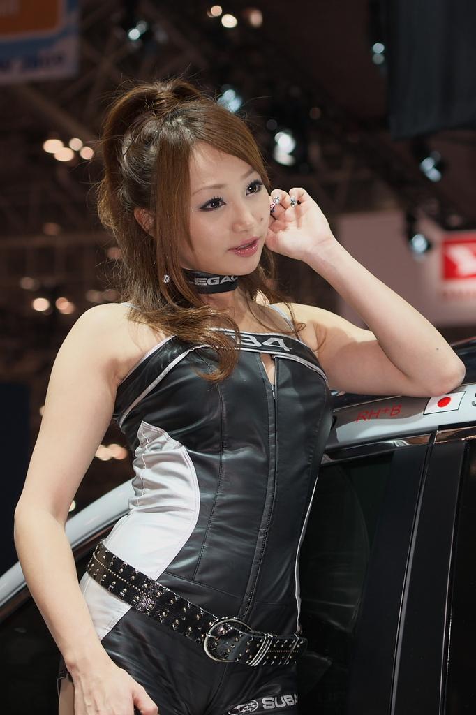 東京モーターショー2009-05-2 葵ゆりかさん