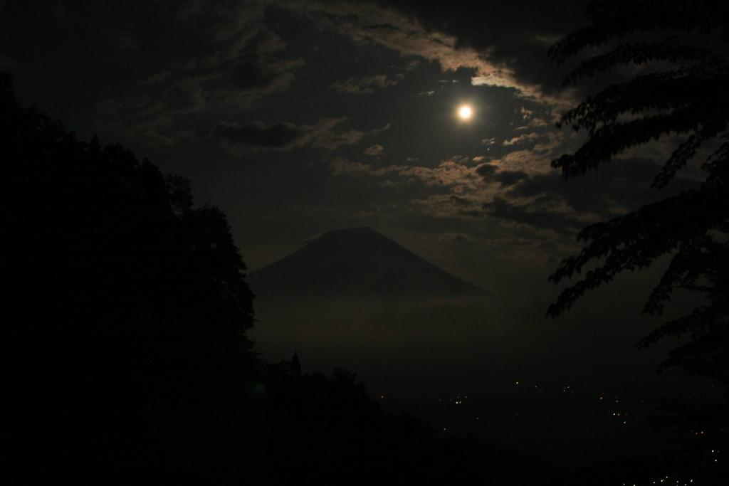 絵画的富士山?