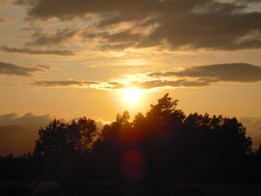 美瑛の丘・夕日