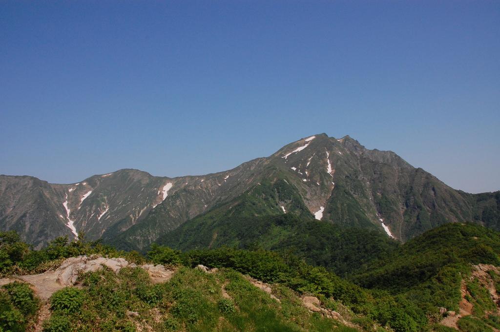 夏の谷川岳