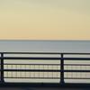 オホーツクの海夕暮れ