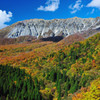 秋の大山南壁