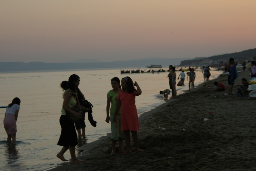 エーゲ海の夕暮れ