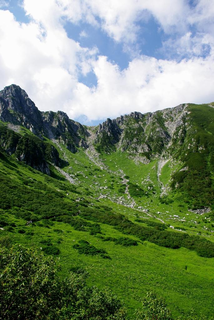 中央アルプス・駒ケ岳