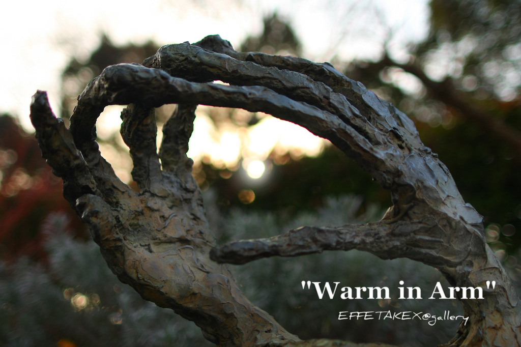 warm in arm